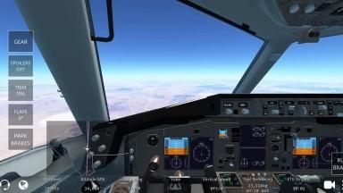 (IF) ASMR _ Boeing B757-200 Cruising at 35,000 feet;