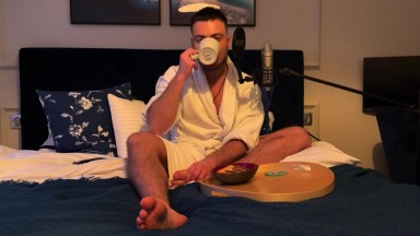 ASMR Morning Coffee + Cookies