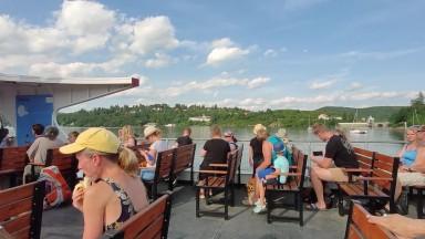 Boat Ride in Brno Reservoir (Binaural)